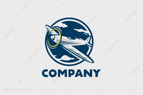 Logo for sale: Aviator Logo
