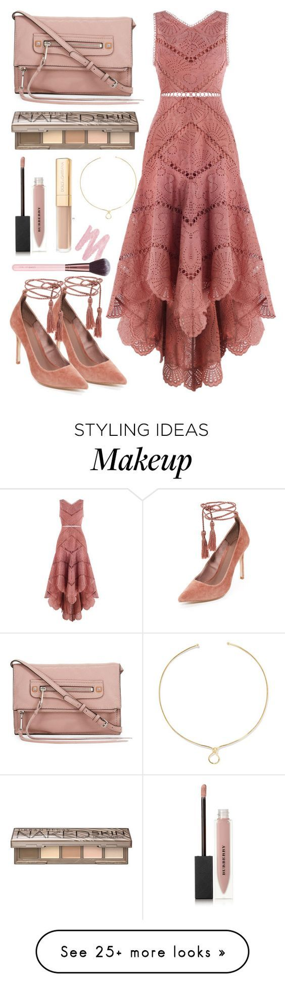 """"" by fanfanfanfannnn on Polyvore featuring Joie, Rebecca Minkoff, Zimmermann, Noir Jewelry, Urban Decay, Burberry and Luxie"