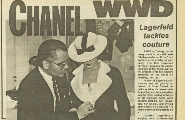 """Artikel """"When Karl came to Chanel"""" (english)"""