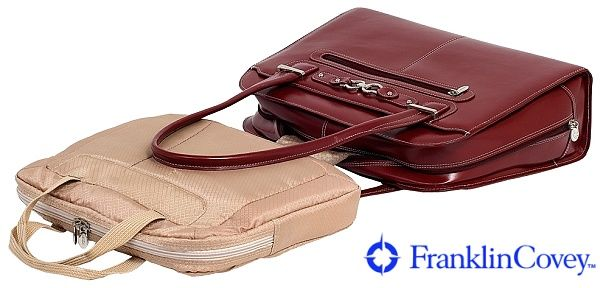 TAŠKY, KABELKY A PENĚŽENKY   Dámské kabelky kožené   Červená kabelka Oak Grove   Franklinplanner