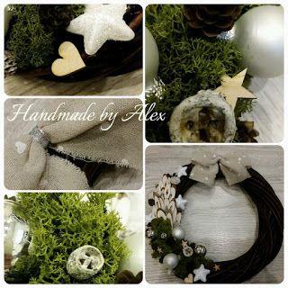 Handmade by Alex: Czas goni!!! JARMARK już w sobotę! A tu tyle ozdób...