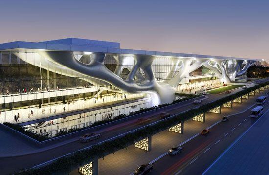 arata isozaki: qatar convention center