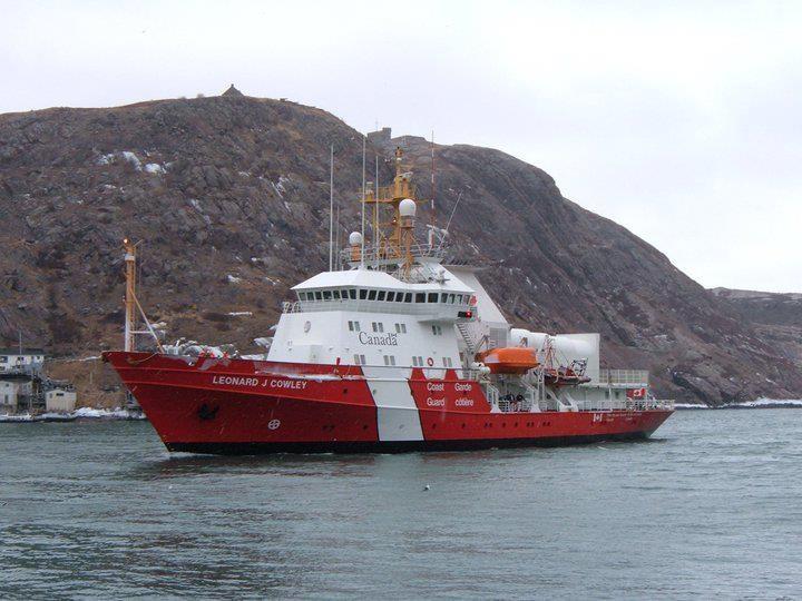 Canadian Coast Guard Ship.