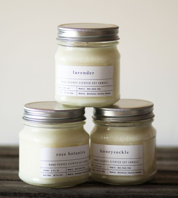 Mason Jar Scented Soy Candle | Scoutmob Shoppe