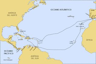 Tercer viaje de Cristobal Colón : Historia Universal