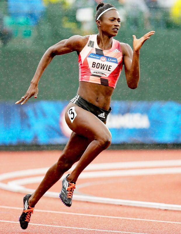 15. Track and field star Tori Bowie에 대한 이미지 검색결과 [FORTHEWIN]즐라탄 포함 ESPN 누드 모델 16인 확정