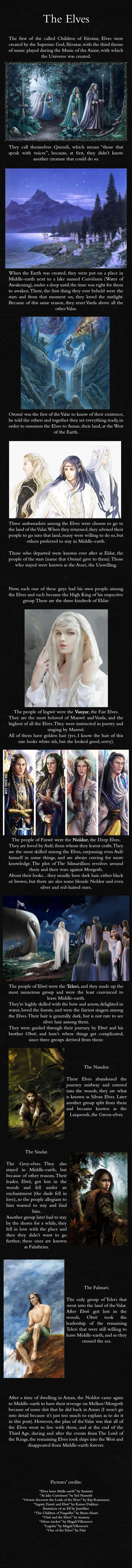 The Elves - J.R.R. Mythology