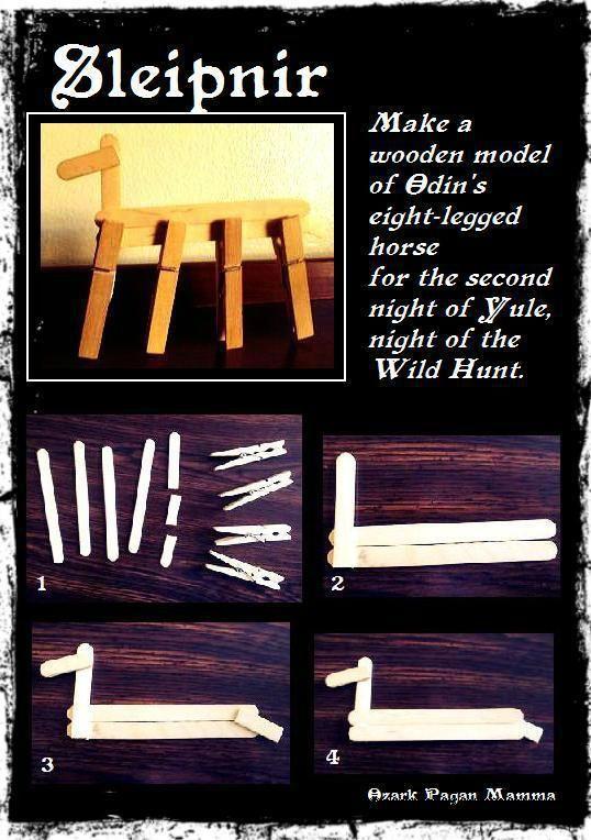 Sleipnir Yule craft