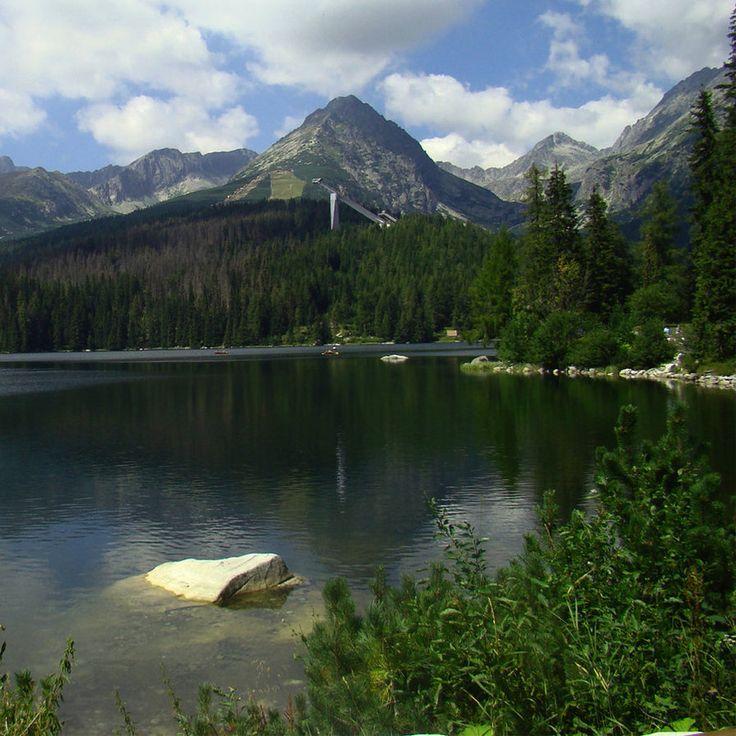 Štrbské Pleso mountain lake, High Tatras, #Slovakia