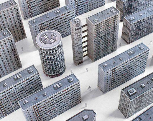 """""""Brutalny"""" Londyn → Inspiracje → Sztuka Design Architektura → Magazyn Akademia Sztuki"""