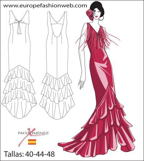Vestido rojo de flamencahttp://www.pinterest.com/Martachanels/flamenca/