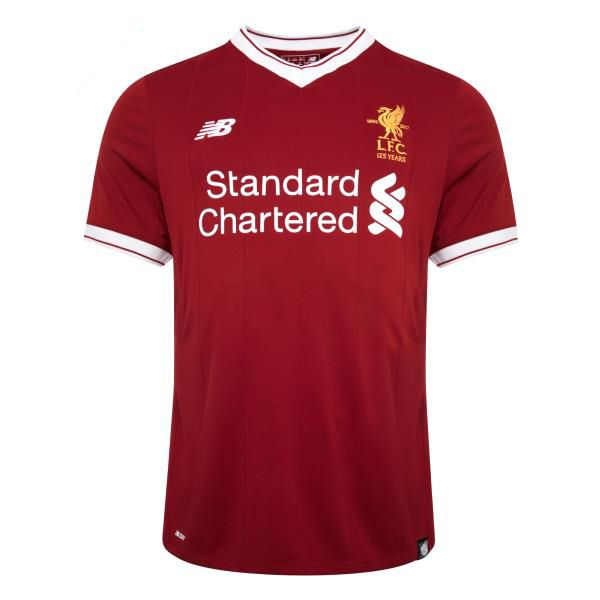 Liverpool HomeSoccer Jersey 2017 2018 ThisLiverpool Home Football Shirt2017 2018. Walk on with hope in your heart the way Liverpool fans have been doing for 125 years now. This milestone season is celebrated in the official 2017/18 Liverpool Home Shirt that brings a retro design from New Balance, with white detailing on the cuffs and […]