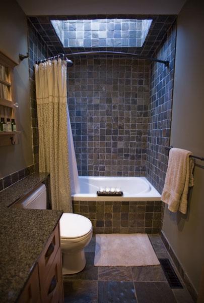 Pamper yourself in main bathroom