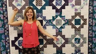 Step Ladder Quilt By Donna Jordan Youtube Quilt Videos