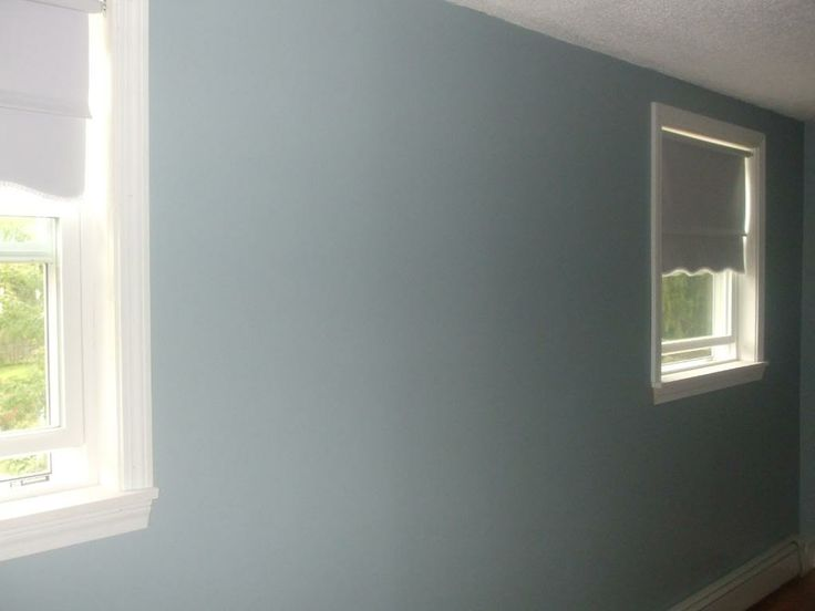 Blue Gray Walls Breezy Sherwin Williams Photo Paint