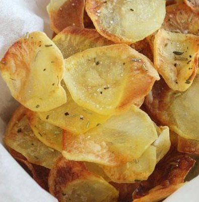 Recipe for Irresistible Baked Potato Chips