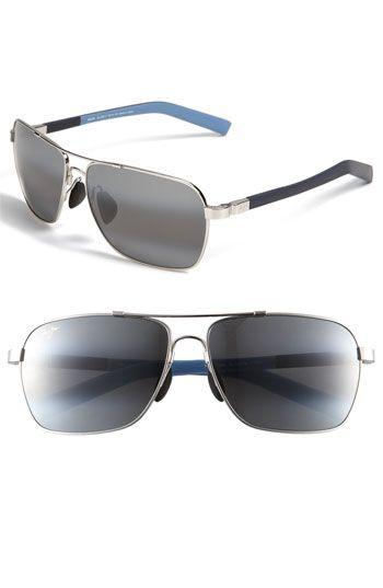 Maui Jim MauiFlex - Freight Trains PolarizedPlus 62mm Sunglasses | Nordstrom / $319 The original Ray Ban aviator in Black