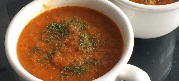 Paleo tomatensoep maken