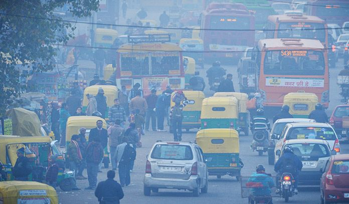 6 Most Polluted Cities In India