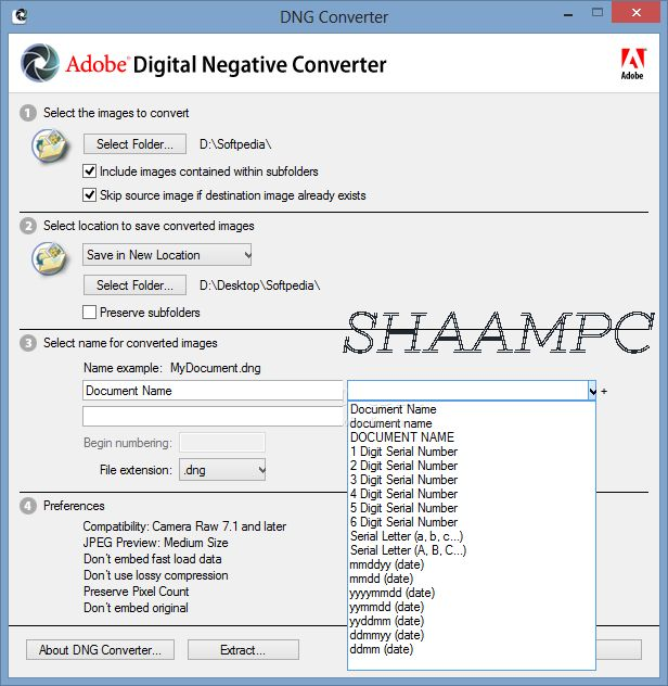 Adobe DNG Converter 11 2 Free Download | ShaamPC | Free, Adobe