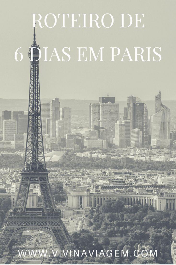 Ah Paris… A cidade mais romântica do mundo, a cidade luz, o sonho de todos os viajantes e nosso segundo destino na Europa. Quem nunca sonhou em conhecer Paris e ver a Torre Eiffel iluminada?!?!? Sem dúvidas, Paris é um destino imperdível para quem se diz um verdadeiro viajante. Confira nosso roteiro de 6 dias em Paris.