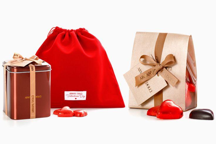 Шоколадные сердца и имбирные пралине Armani/Dolci