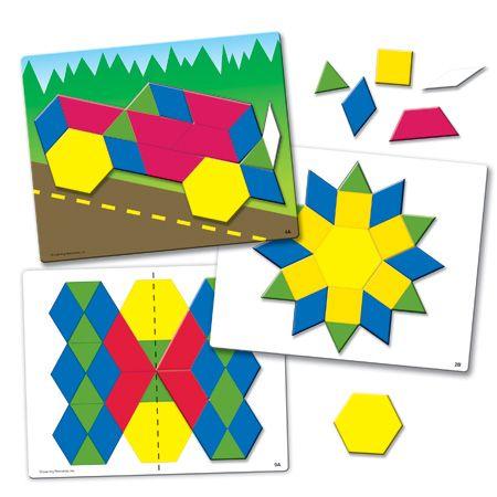 Magnetic Pattern Activity Set #ad theautismteachingblog.com