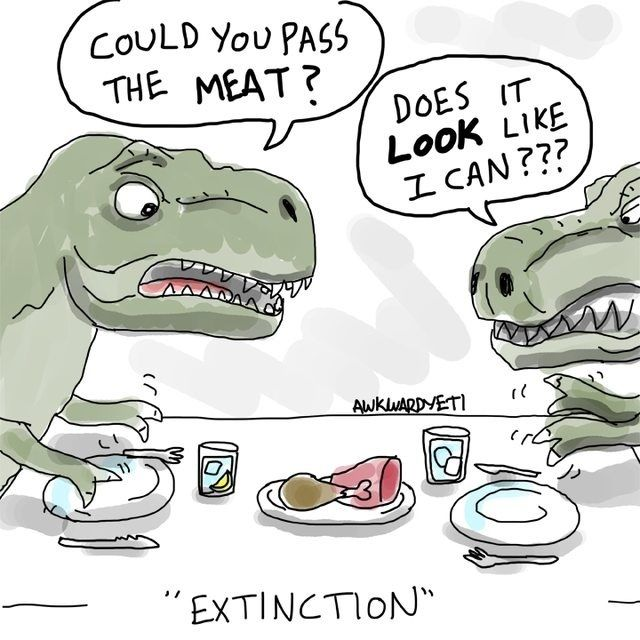 science comics genetics - Google Search T-rexes are my favorite dino! Body so large, but hands so small!!!!!