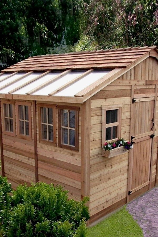 29 Awesome Garden Shed renovated ideas for your backyard project - Potting Shed Designs