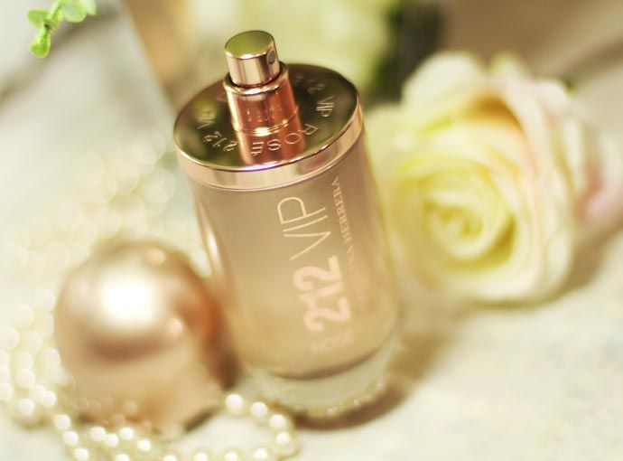 Perfume 212 Vip Rosé da Carolina Herrera