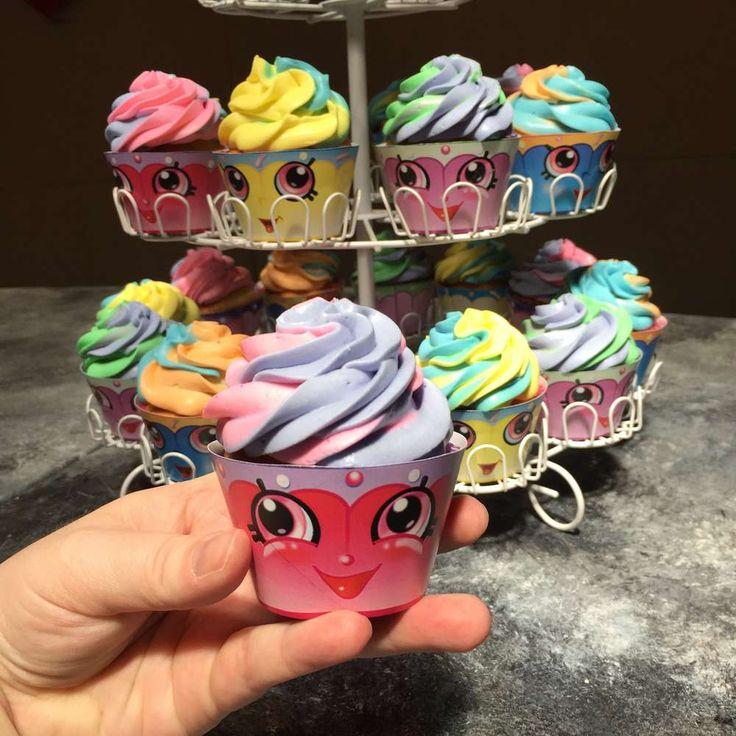 Shopkins Cupcakes   CatchMyParty.com