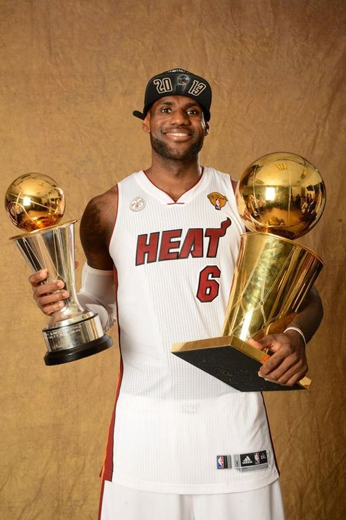 LeBron James 2013 NBA Champion and MVP