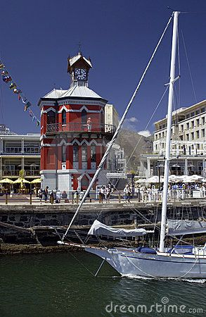 The V Waterfront in Capetown in South Africa.