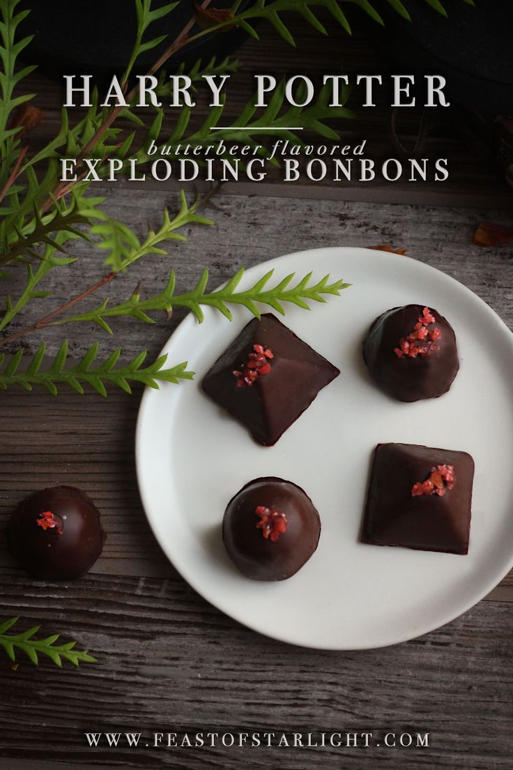 Butterbeer flavored Exploding Bonbons from Honeydukes in the Harry Potter series.