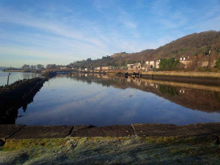 Bowling harbour  Crisp winters morning walk 2015