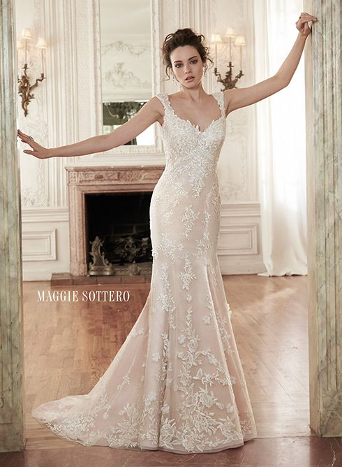 Holly Marie - by Maggie Sottero BEAUTIFUL!!! See full sides view on the website
