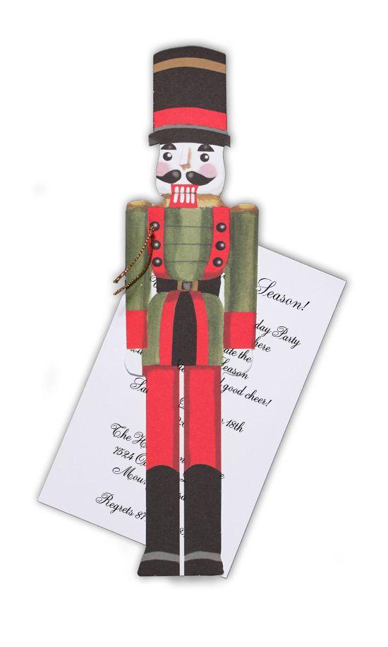 662 best christmas nutcracker images on pinterest paper crafts nutcracker invitation solutioingenieria Image collections