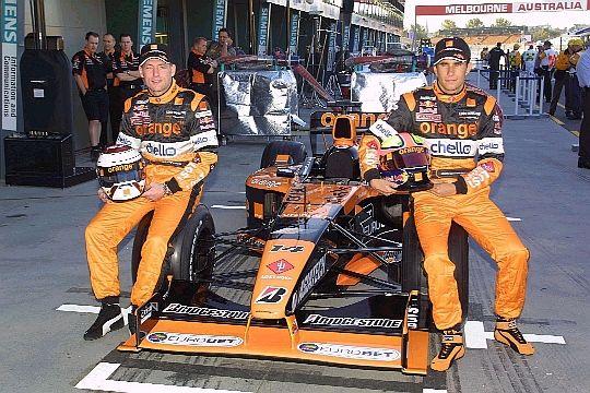 2001 Jos Verstappen and Enrique Bernoldi