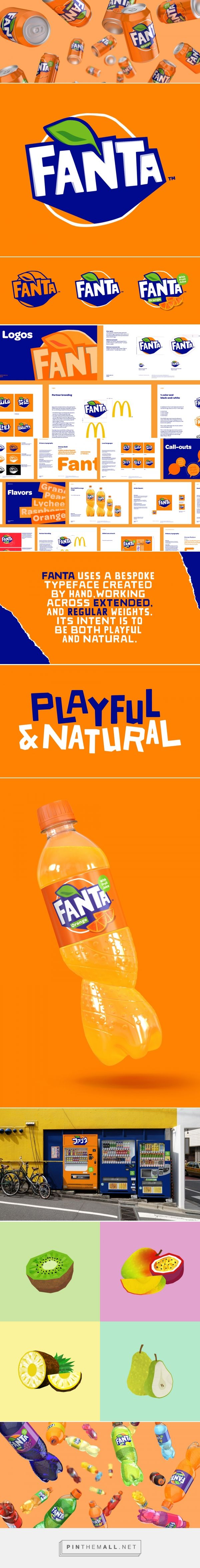Brand New: Follow-up: New Logo and Packaging for Fanta by Koto... - a grouped images picture - Pin Them All