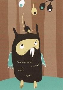 Eläimet #3 - Ihmettelevä pöllö 1,00