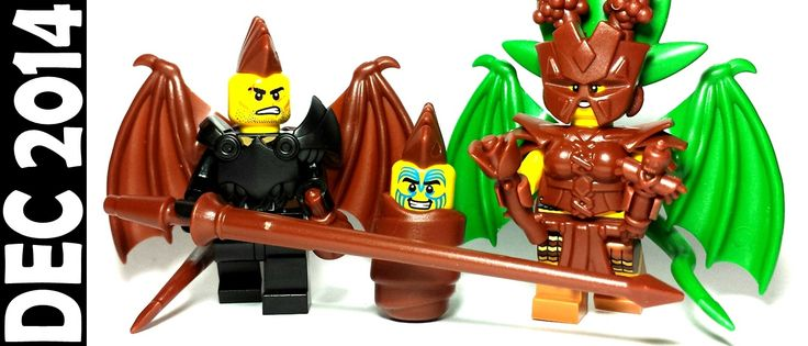 Get Brown Dragon Wings, Coin Purses, and Lances!  It's time for a new color release...brown! The following items are now available in brown for the first time ever (and they've also been restocked in green):   •Dragon Wings •Coin Purse •Lance •Loincloth •Mohawk •RPG #lego #Minifigure #brickwarriors #holiday #Christmas #presents #gifts #tgif #green #brown #dragon #Mohawk #wings #afol #tfol