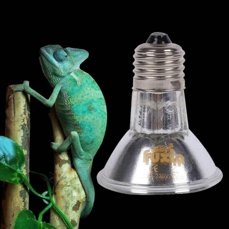 UVA UVB E27 220V Full Spectrum g Lamp Bulb High Power Pet Reptile Halogen Spotlights 25/50/75/100W #Affiliate