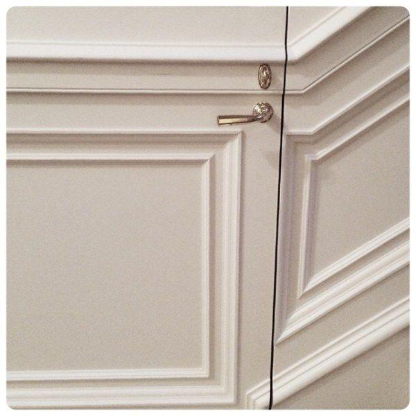 Westminster lever on jib door   Wilmette Hardware  sc 1 st  Pinterest & 65 best Jib / Discreet Doors images on Pinterest   Hidden doors ...