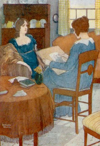 I drew a careful outline - Jane Eyre by Charlotte Brontë, 1922