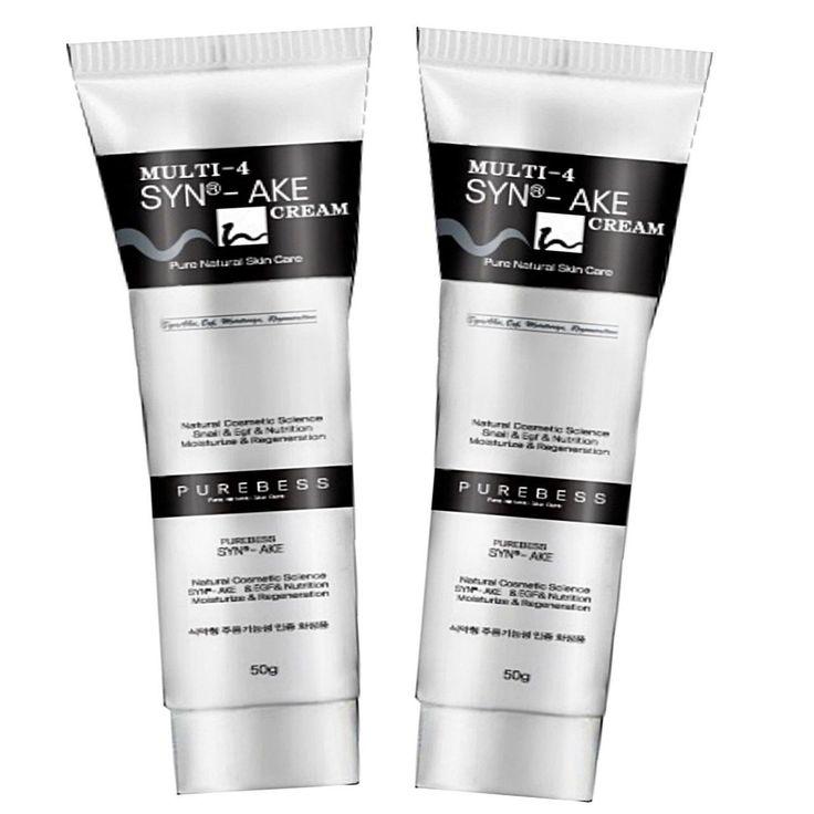 Purebess Multi-4 Syn-ake Cream 50g x 2 Anti Wrinkle Snake Venom Cream SYN-AKE 4% - Strawberrycoco