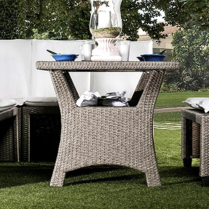 Furniture Of America Wisheka 3pc Outdoor Patio Set