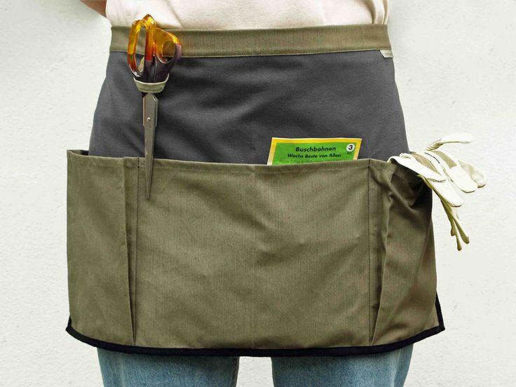 Gartenschürze / Grill- und Kochschürze von manubrium  auf DaWanda.com