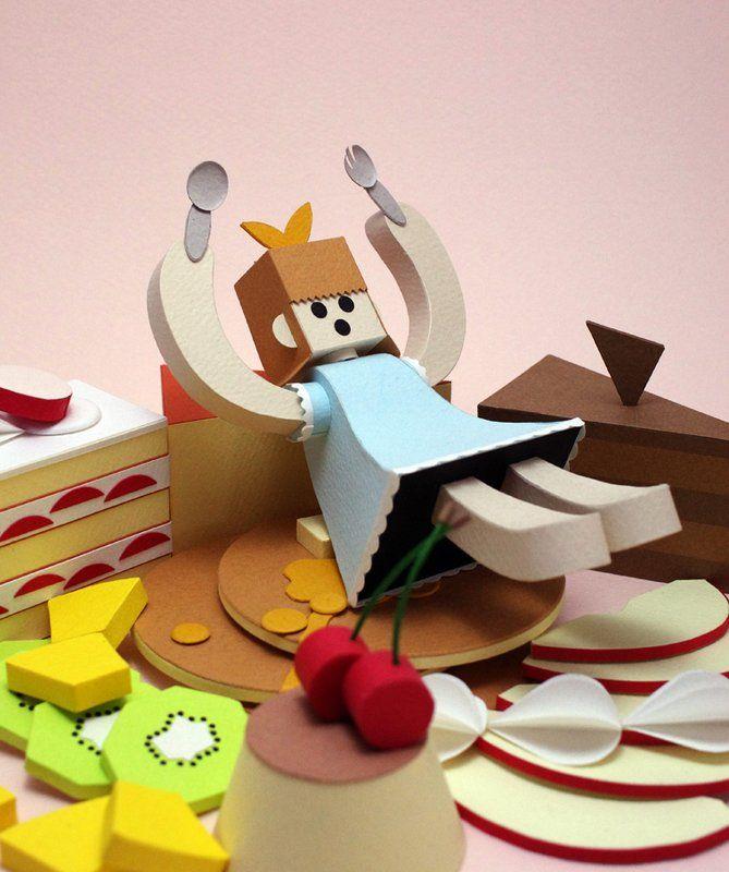 dessert and a girl by Shogo Kisara