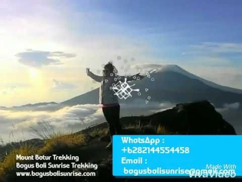 Mount Batur Sunrise Trekking - Bagus Bali Sunrise Trekking - YouTube
