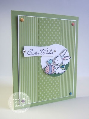 I like the stripe v polka dot: The Dot, Everybunni Easter, Cute Cards, Cards Ideas, Cards Easter Spr, Amazing Cards East, Easter Cards Spr, Easter Bunnies, Cards Inspiration